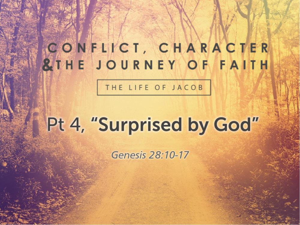 "Part 4, ""Surprised by God!"" Image"