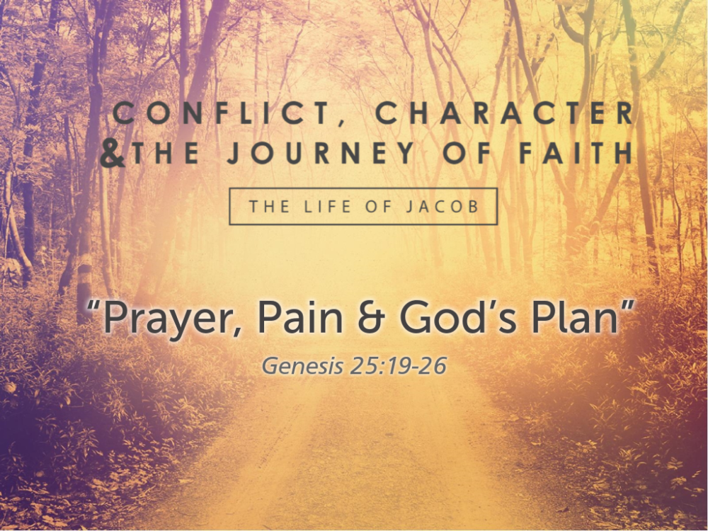 "Part 1, ""Prayer, Pain, and God's Plan"""