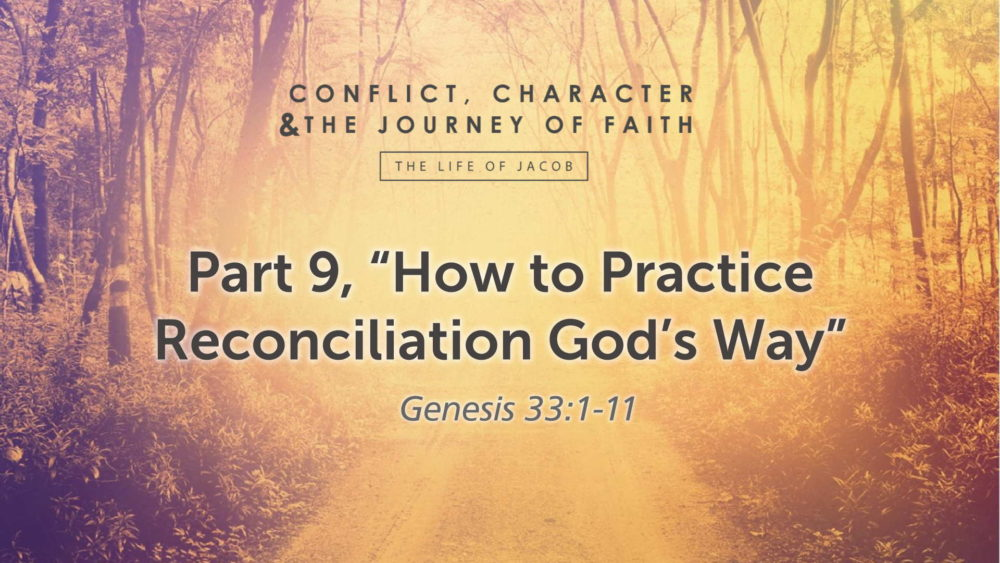 "Part 9, ""How to Practice Reconciliation God's Way"" Image"