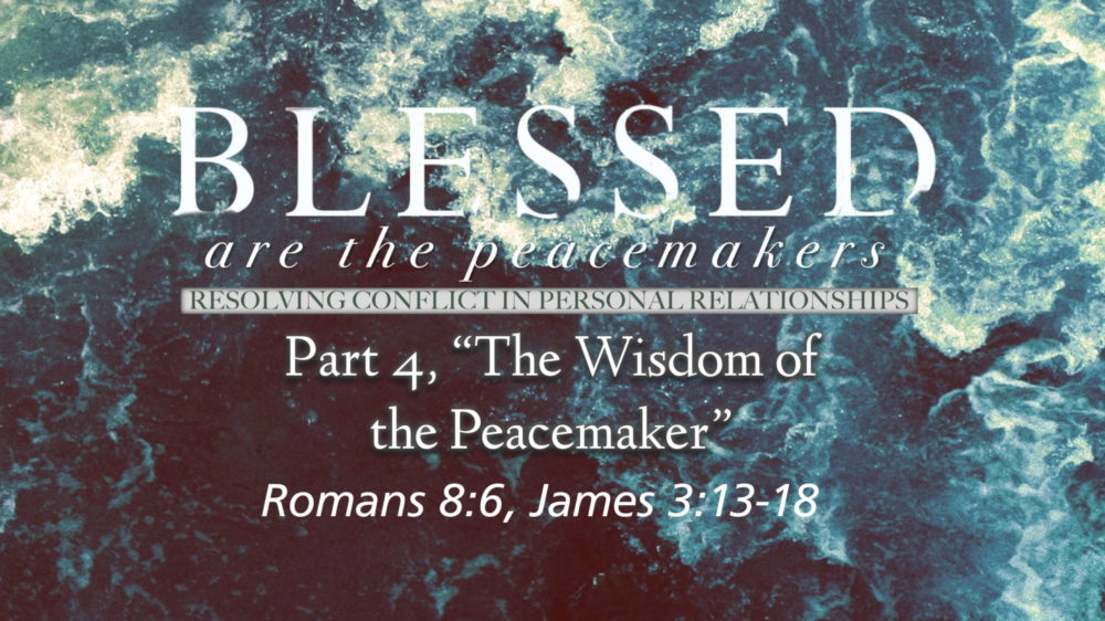 "Part 4, ""The Wisdom of the Peacemaker"" Image"