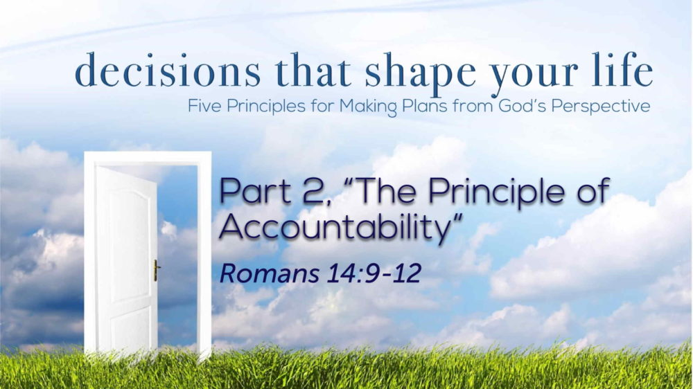 "Part 2, ""The Principle of Accountability"" Image"