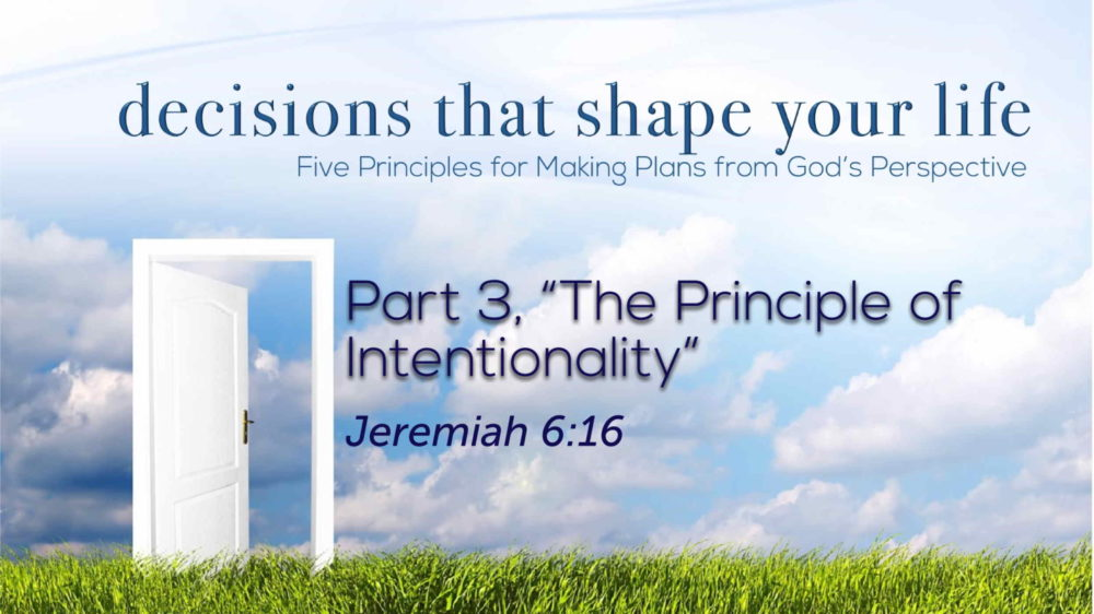 "Part 3, ""The Principle of Intentionality"" Image"