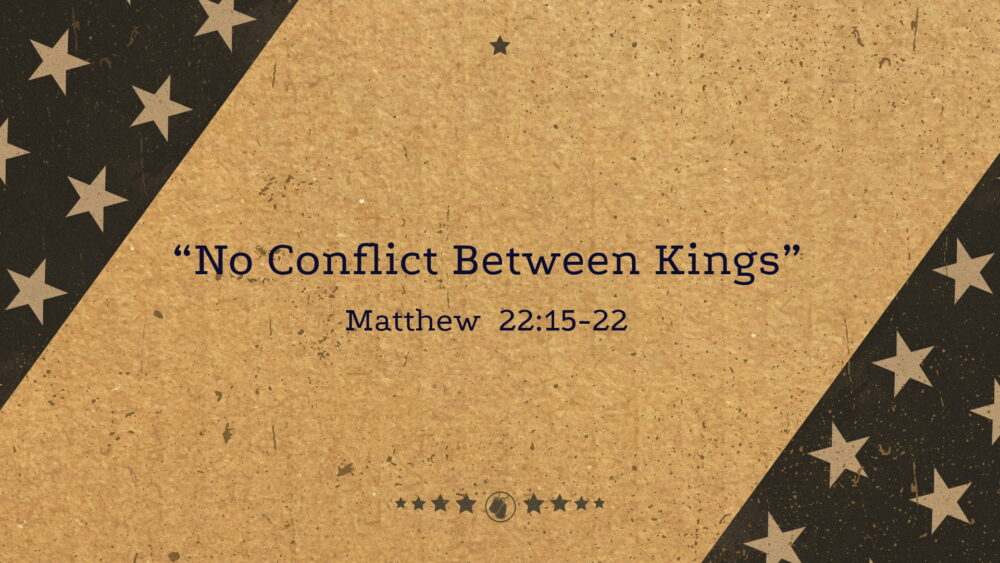 """No Conflict Between Kings"" Image"