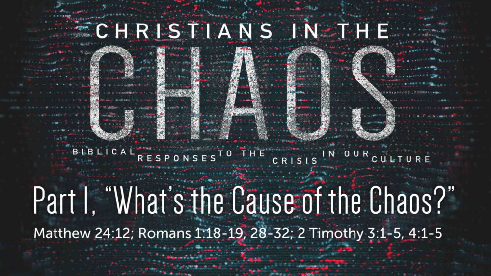 "Part 1, ""What's the Cause of the Chaos?"" Image"