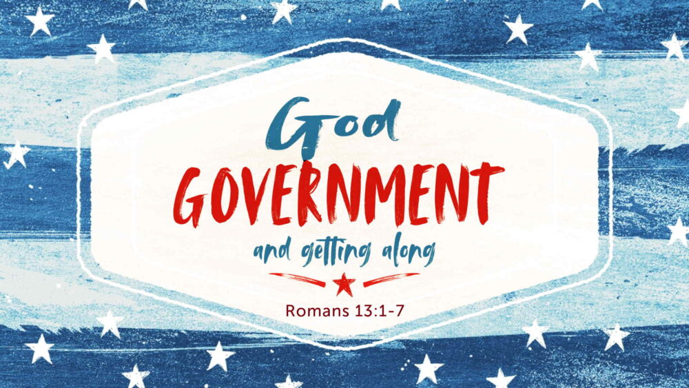 """God, Government, and Getting Along"" Image"