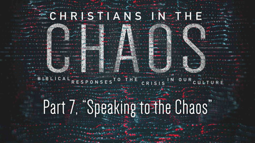 "Part 7, ""Speaking to the Chaos"" Image"