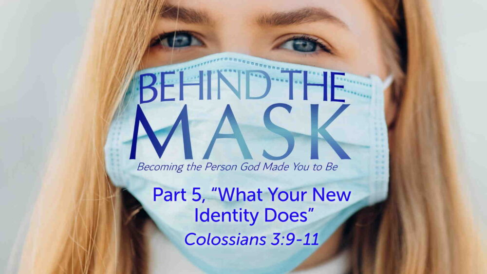 "Part 5, ""Beyond the Mask: Your New Identity at Work"" Image"