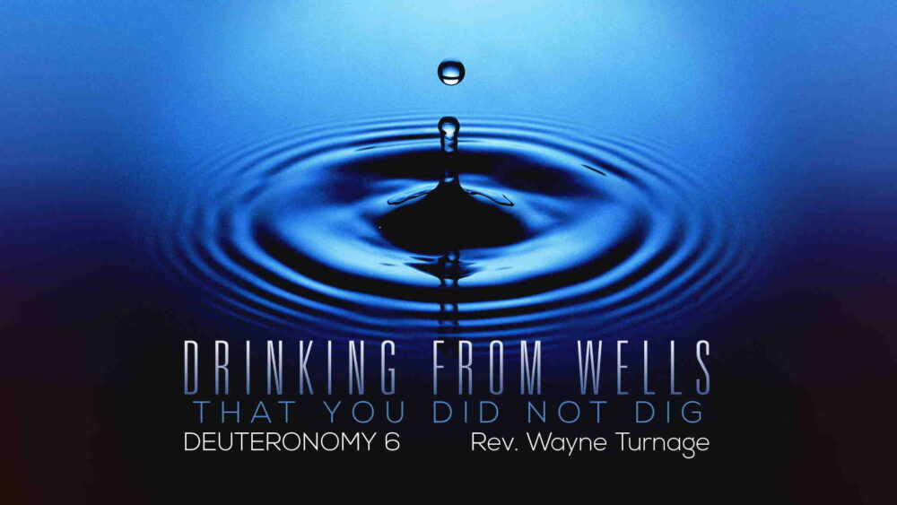 """Drinking from Wells That You Did Not Dig"" Image"